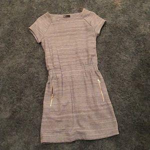 Gap blue midi dress size XS, thick material